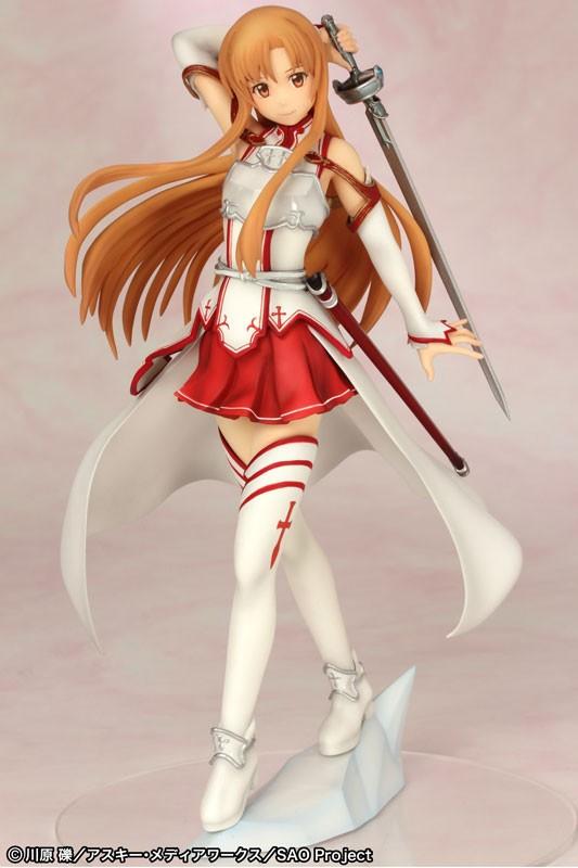 Figurine Asuna Knight  – Sword Art Online