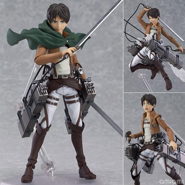 Figurine – Figma Eren Yeager – Shingeki no Kyojin