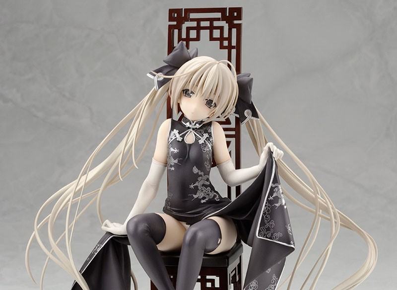 Figurine Kasugano Sora Black Chinese Dress (Release)