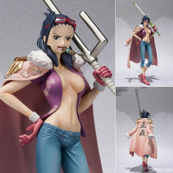 Figurine In Tashigi's body, Punk Hazard