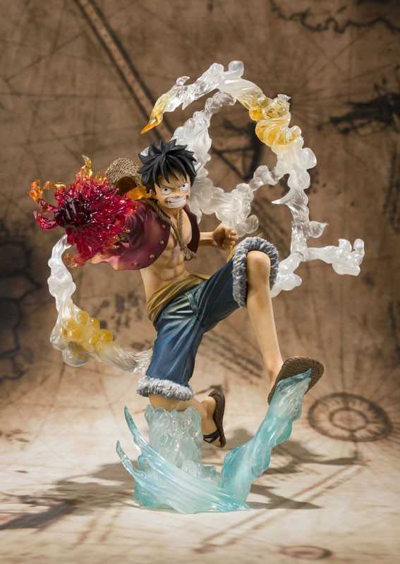 Figurine Monkey D. Luffy Battle ver – One Piece
