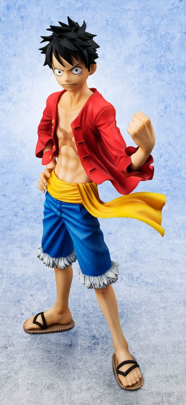 "Figurine Monkey D. Luffy –  Portrait Of Pirates ""Sailing Again"""