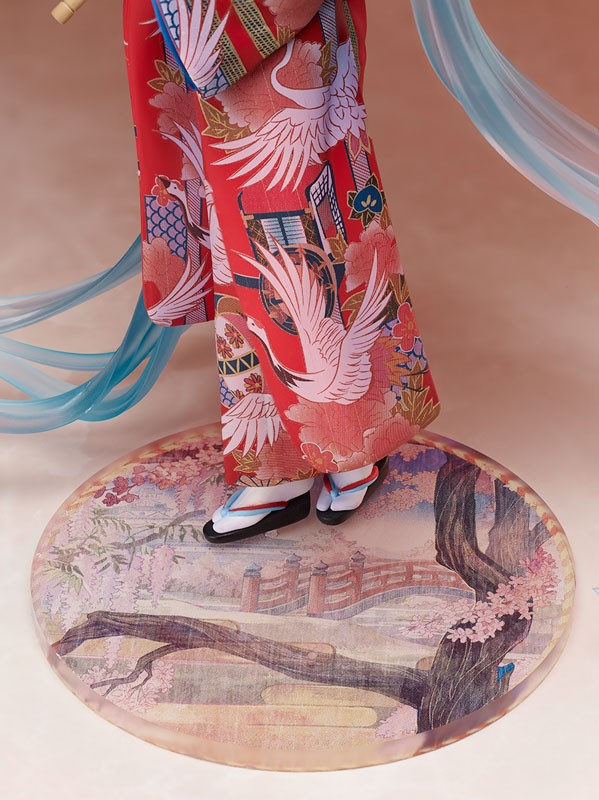 Figurine Miku Hatsune Hanairogoromo
