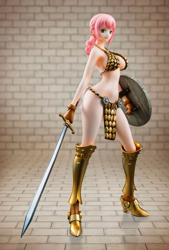 "Figurine Portrait.Of.Pirates ONE PIECE ""Sailing Again"" Gladiator Rebecca"