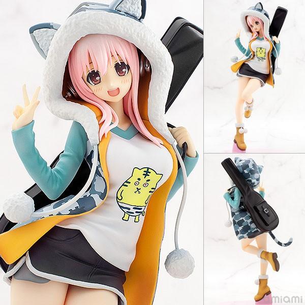 Figurine Super Sonico Tiger Parka Ver. 1/8