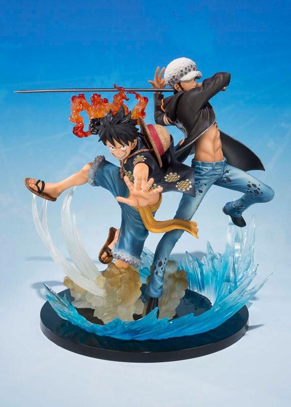 Figurines duo Monkey D. Luffy & Trafalgar D. Water Law