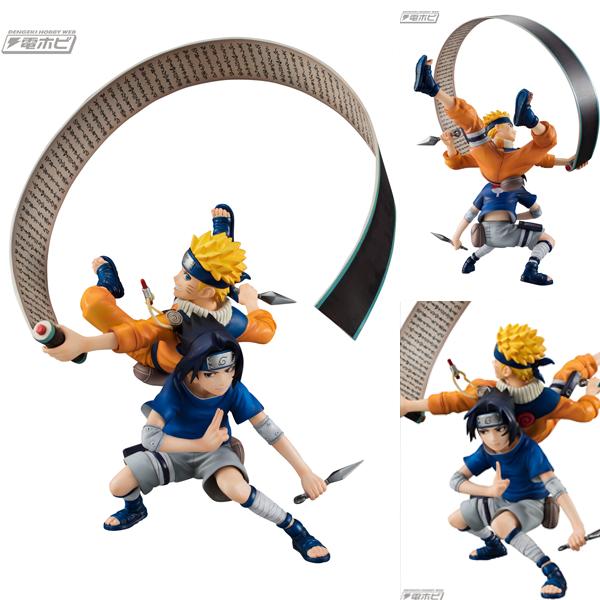 Figurine Duo Naruto Uzumaki et Sasuke Uchiha – Naruto