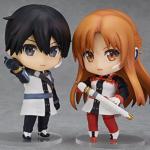 Lot de 2 Nendoroid Kirito et Asuna – Gekijouban Sword Art Online