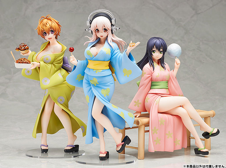 Figurine Watanuki Fuuri – Axanael, SoniAni: Super Sonico The AnimationSoniAni: Super Sonico The Animation