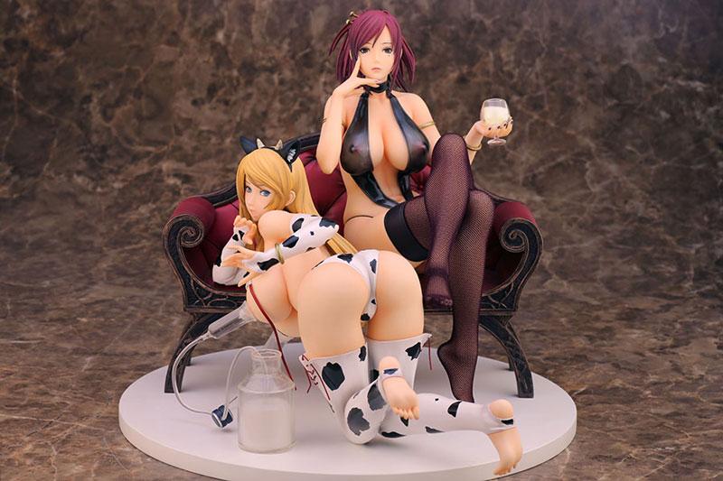 Lot de 2 figurines Kuryuu Hazuki et Mamiya Marie – Lewdness ~Vita sexualis~, Starless