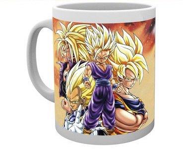 Mug cup Super Saiyans – Dragon Ball Z