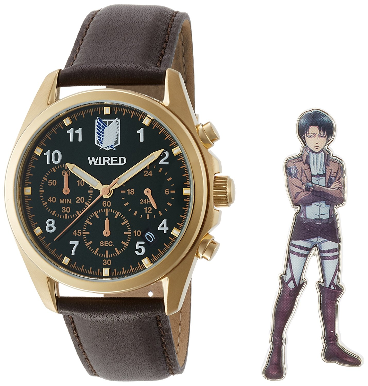 Montre de Levi (Limited Edition) – Shingeki no Kyojin