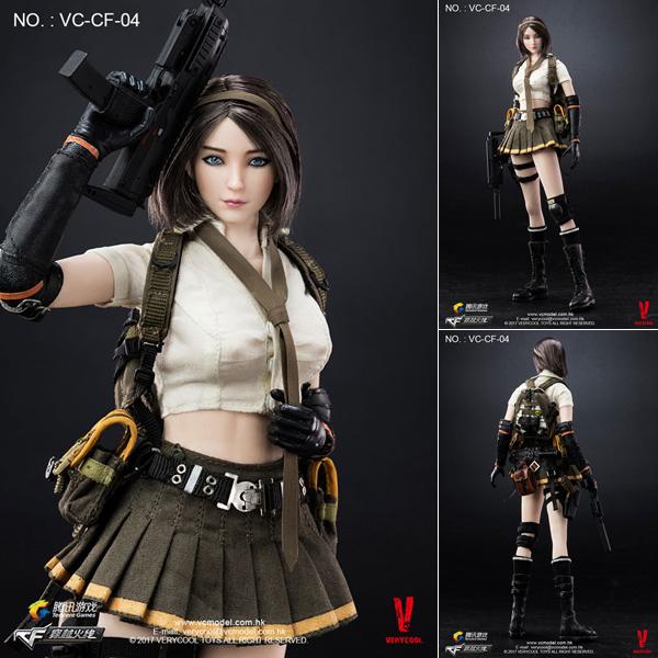 Figurine CrossFire Double Agent Zero