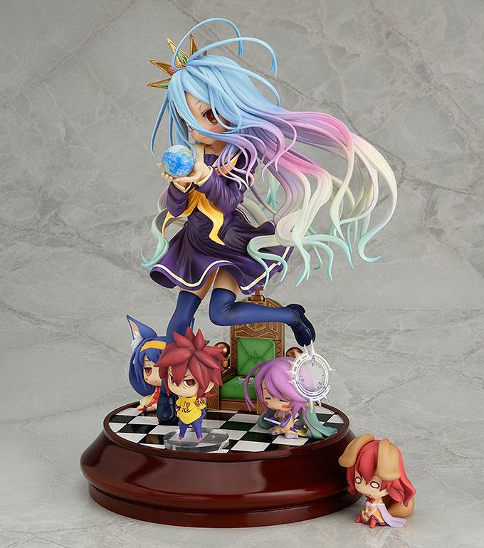Figurines Hatsuse Izuna, Jibril, Shiro, Sora, Stephanie Dola – No Game No Life