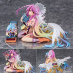 Figurines Jibril, Shiro – No Game No Life