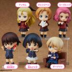 Box de 6 Nendoroid (Assam, Orange Pekoe, Rosehip, Isobe Noriko, Sono Midoriko, Darjeeling) – Girls und Panzer