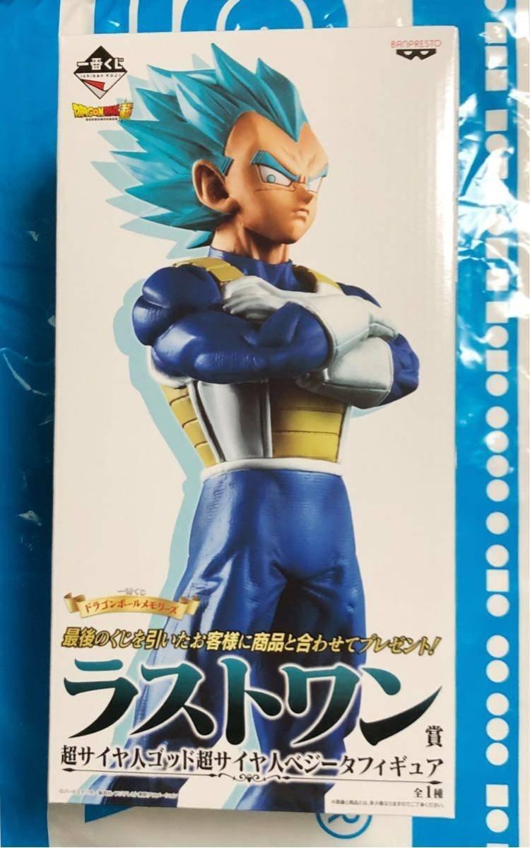 Figurine Vegeta SSJ God SS (Vegeta Super Saiyan Blue)
