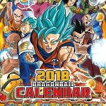 Calendrier 2018 Dragon Ball Super
