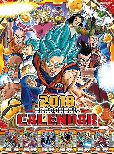 Calendrier 2018 Dragon Ball Super