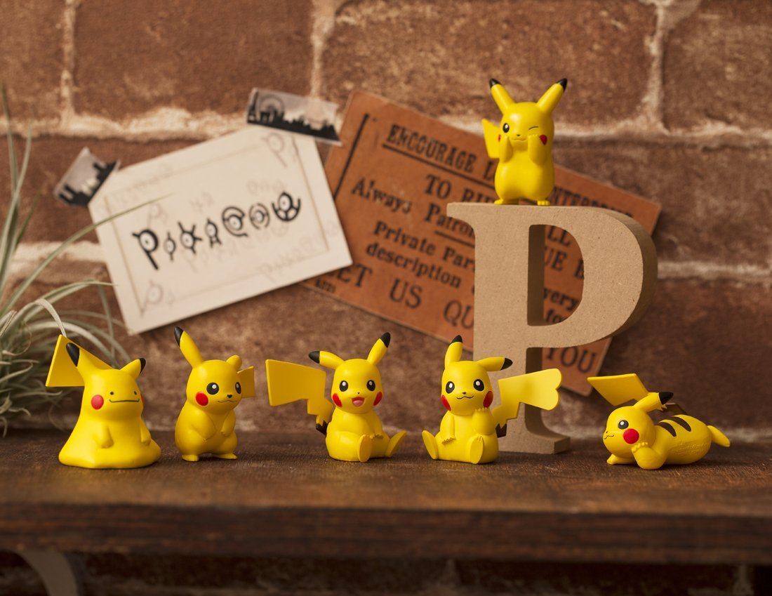 Set de 6 Pikachu – Pokemon
