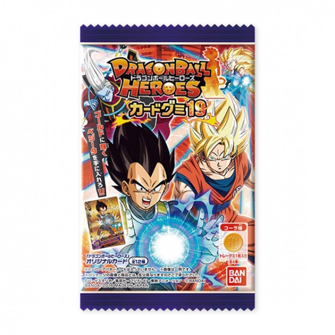 Booster : Bonbon Gummy + Cartes à collectionner Super Dragon Ball Heroes