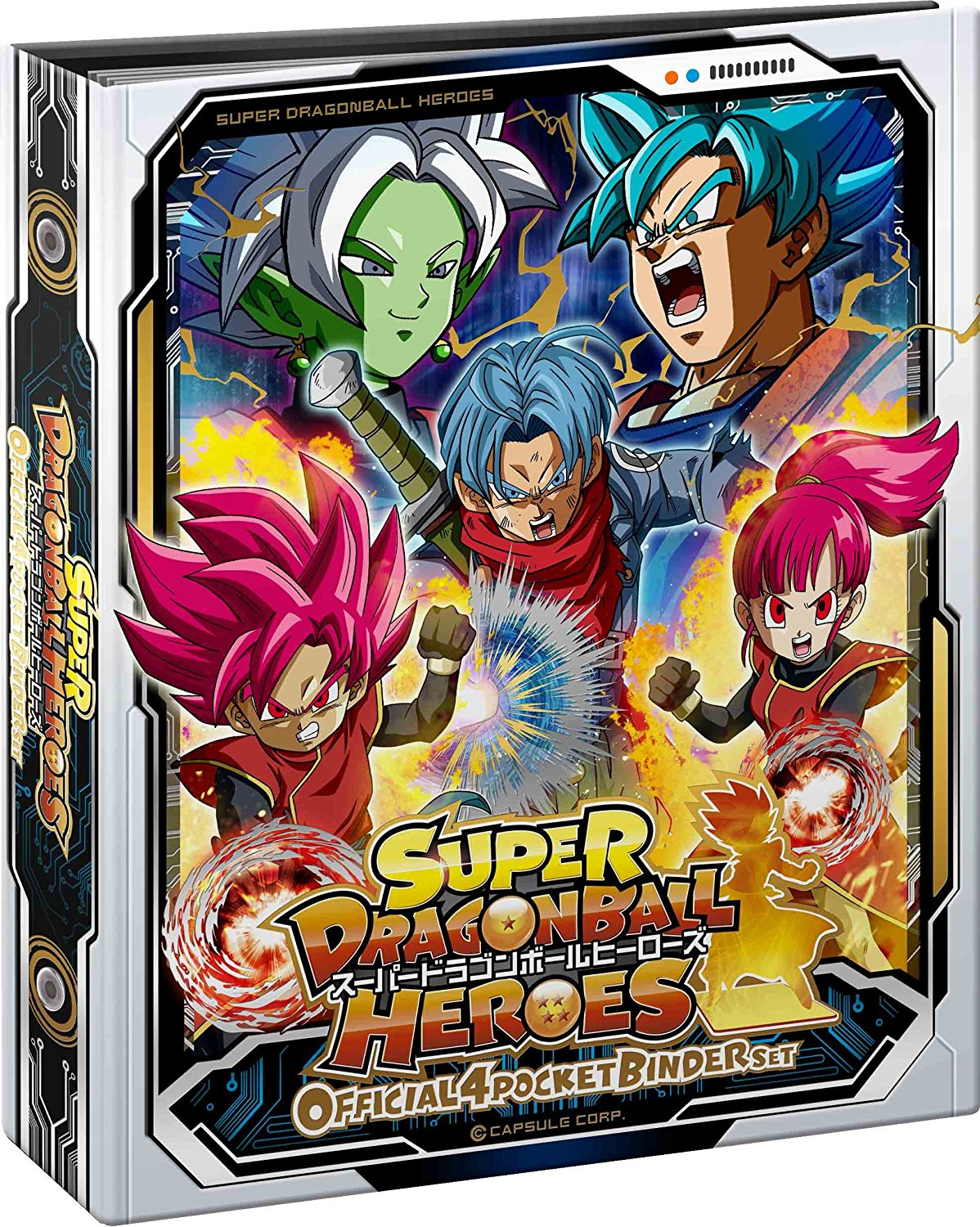 Super Dragon Ball Heroes : Official 4 Pocket Binder Set