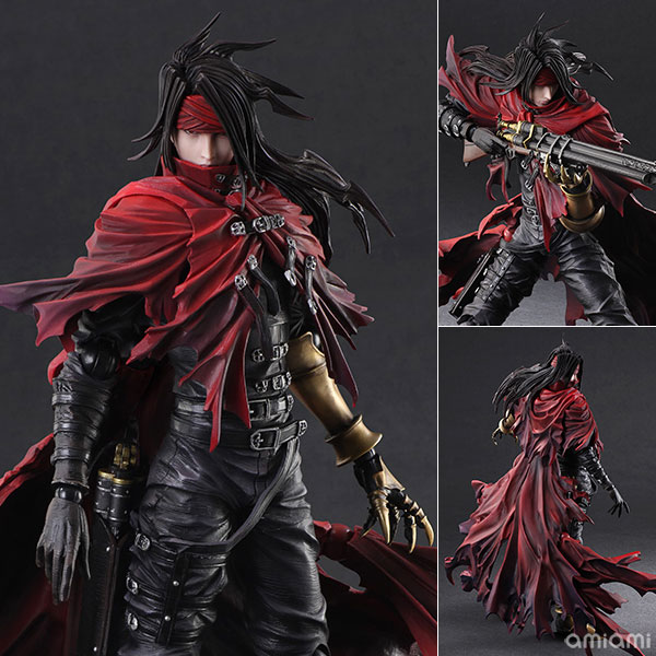 Figurine Vincent Valentine – Dirge of Cerberus: Final Fantasy VII
