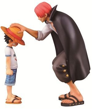 Figurine Monkey D. Luffy & Akagami no Shanks – One Piece