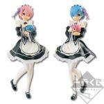 Lot de figurines Ram & Rem – Re:Zero kara Hajimeru Isekai Seikatsu