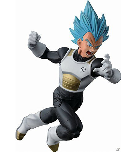 Figurine Vegeta SSJ God SS (Vegeta Super Saiyan Blue) – Dragon Ball Super
