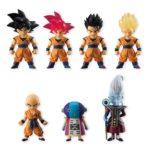 Set 7 mini figurines – Dragon Ball
