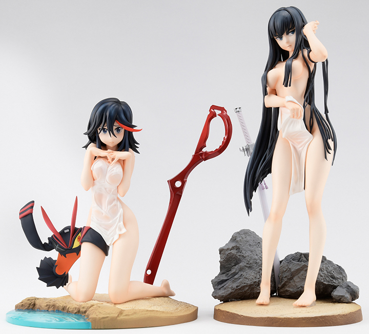 Lot de 2 Figurines Matoi Ryuuko & Kiryuuin Satsuki (Limited + Exclusive) – Kill la Kill
