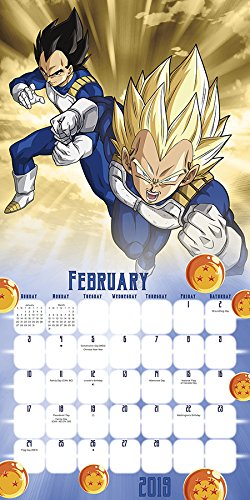 Dragon Ball Super 2019 Calendar