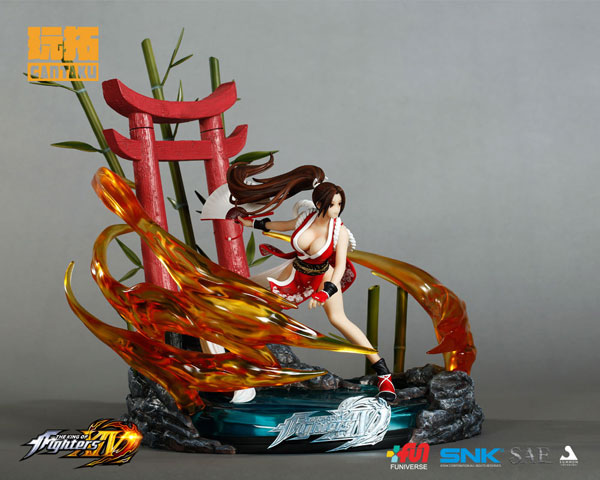 Figurine Shiranui Mai (Exclusive + Limited) – The King of Fighters XIV