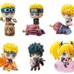 Lot de 6 petites figurines Naruto Uzumaki – Naruto Shippuuden