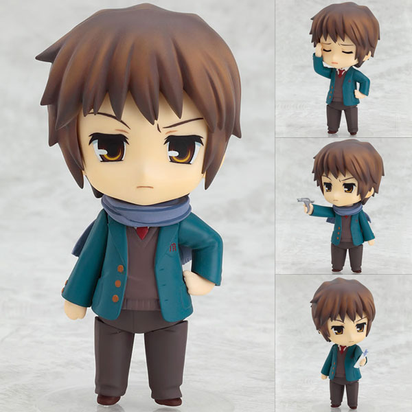 Figurine Nendoroid Kyon – Suzumiya Haruhi no Shoushitsu