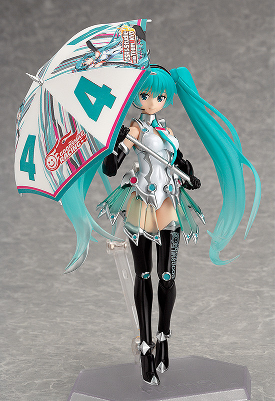 Figurine Hatsune Miku (Limited + Exclusive) – GOOD SMILE Racing, Vocaloid