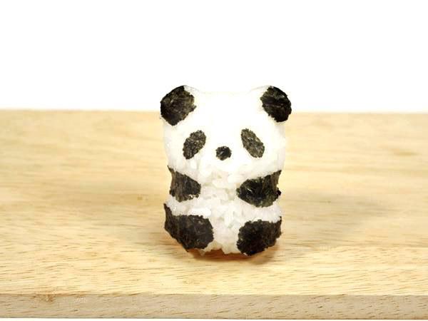 Kit de Fabrication Baby Panda Onigiri