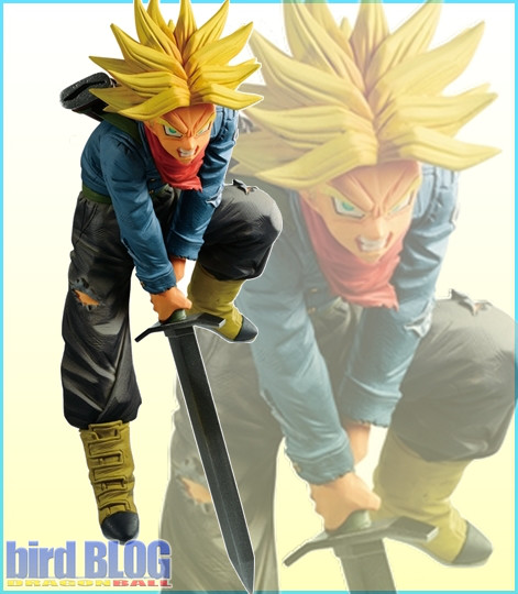 Figurine Mirai Trunks SSJ (Mirai Trunks Super Saiyan) – Dragon Ball Super