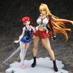Lot de 2 figurines : Shikishima Mirei & Tokonome Mamori – Valkyrie Drive: Mermaid