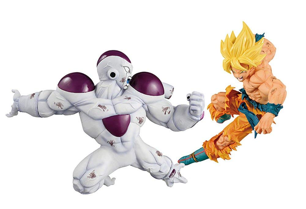 Figurine Freezer Vs Son Goku ( Freezer Final Form Vs Son Goku Super Saiyan) – Dragon Ball