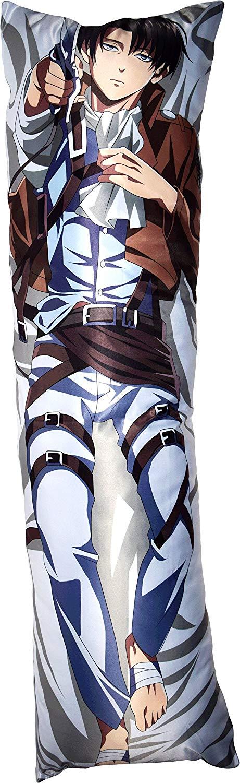 Taie d'oreiller Levi et Eren (150cmx50cm) – Shingeki no Kyojin