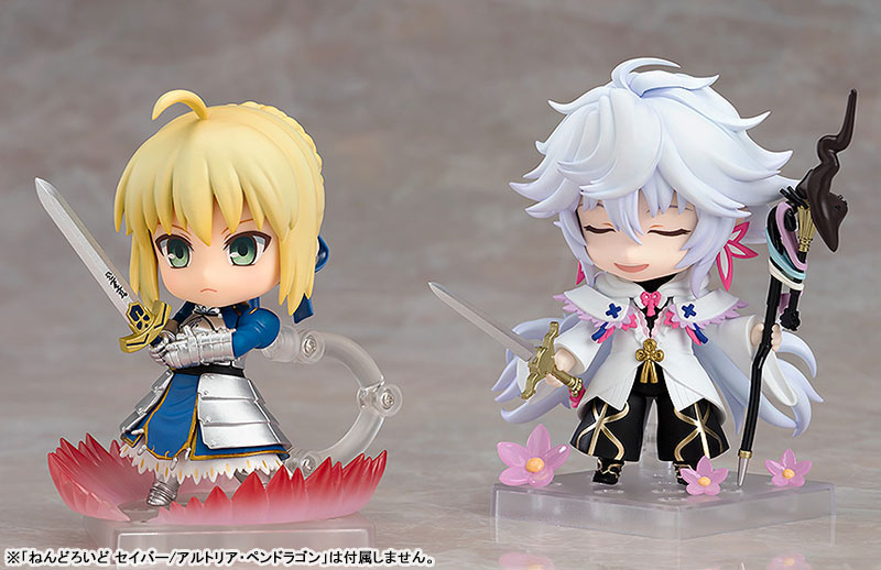 Figurine Nendoroid Merlin (Magus of Flowers version) – Fate/Grand Order