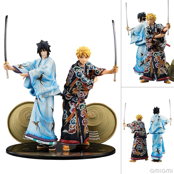 Duo Uzumaki Naruto + Uchiha Sasuke (Limited + Exclusive) – Kabuki