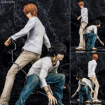 Figurines L & Yagami Light – Death Note
