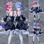 Figurines Ram et Rem – Re:Zero kara Hajimeru Isekai Seikatsu