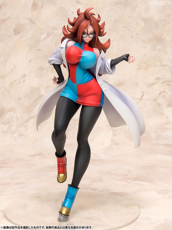 Figurine Jinzouningen Nijuuichi-Gou (Android 21) – c FighterZ