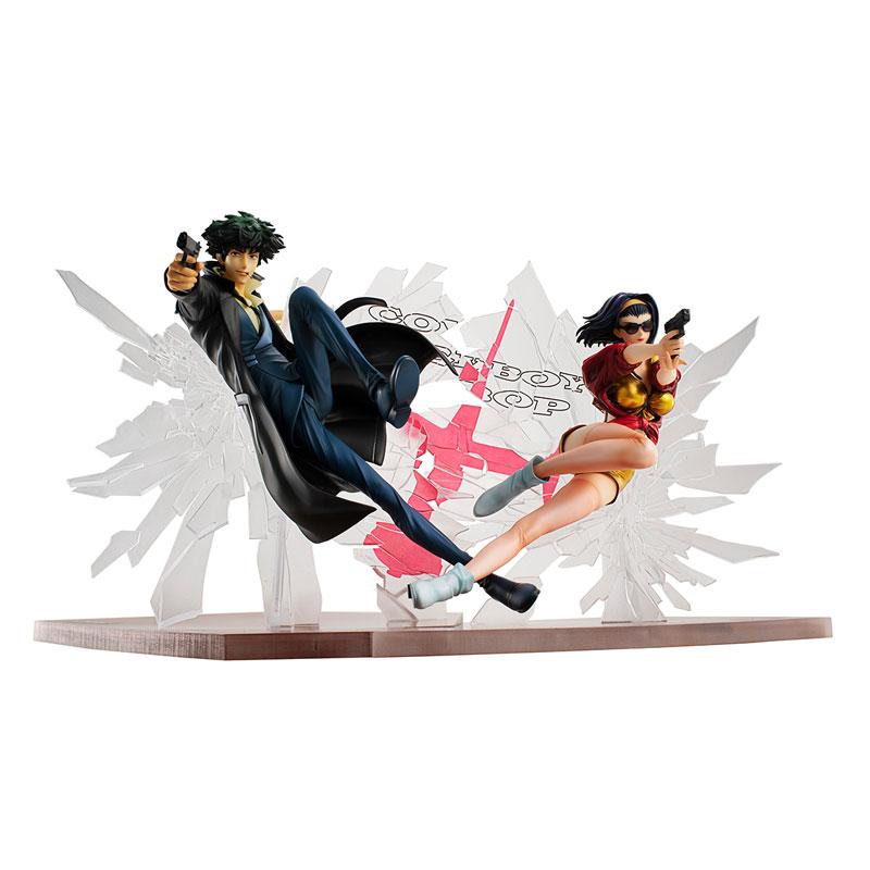 Set Figurines Spike Spiegel & Faye Valentine – Cowboy Bebop