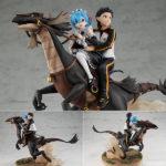Figurine Natsuki Subaru & Rem – Re:Zero kara Hajimeru Isekai Seikatsu