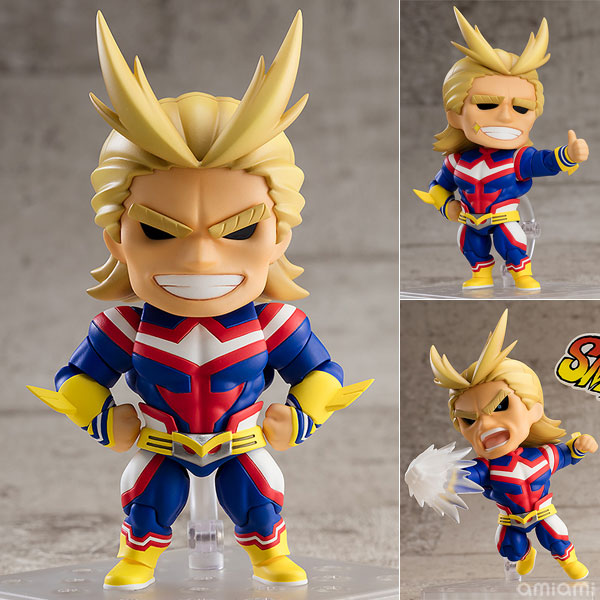 Figurine Nendoroid All Might – Boku no Hero Academia